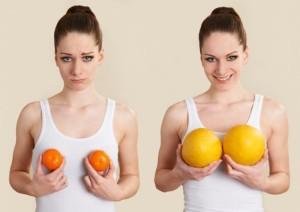 Методы для увеличения груди